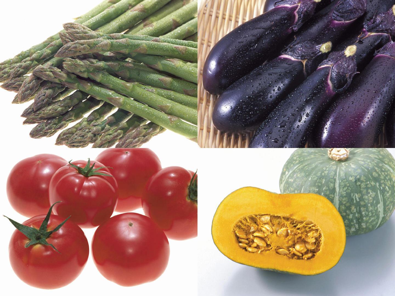 不調を解消する食材 「カラフル野菜」