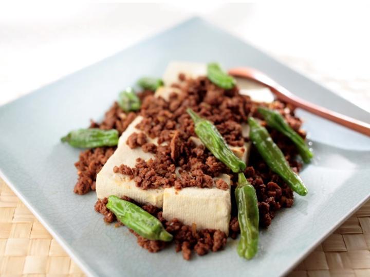 中華風 肉みそ豆腐