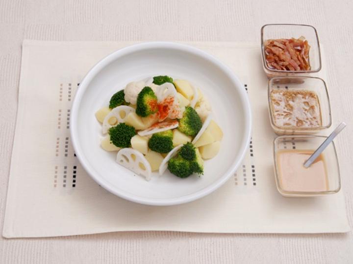 冬の温野菜サラダ